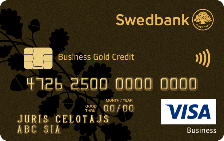 Business Gold Credit Card Swedbank