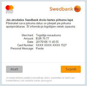 swedbank securecode