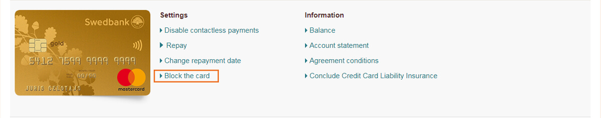 Customer Support - Swedbank