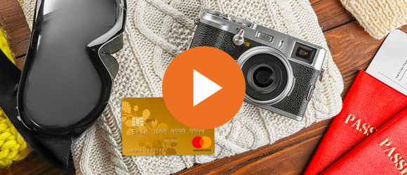 Credit card – reliable companion on a trip!